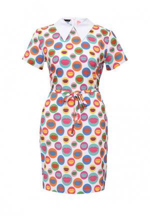 Платье Disash. Цвет: разноцветный