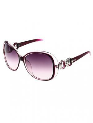 Солнцезащитные очки Leya.. Цвет: фиолетовый, черный