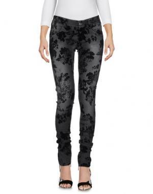 Джинсовые брюки BAD SPIRIT. Цвет: свинцово-серый