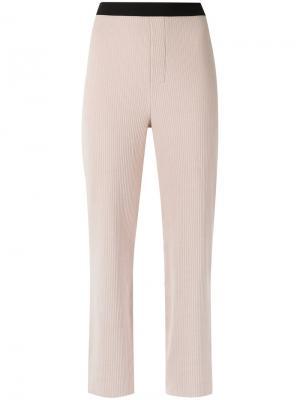 Knitted wide legs trousers Osklen. Цвет: телесный