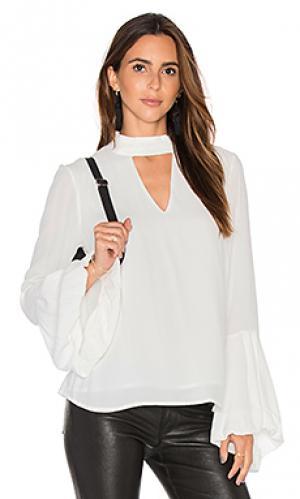 Блузка edie Bardot. Цвет: белый