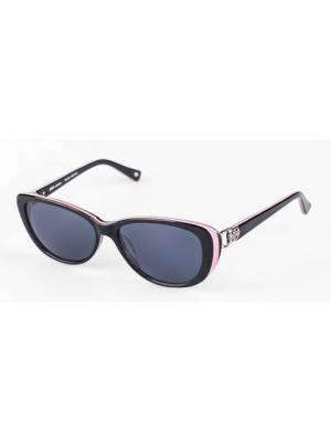 Очки солнцезащитные Soho collection. Цвет: черный, розовый
