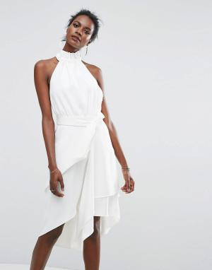 C/meo Collective Платье. Цвет: белый