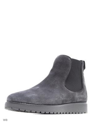 Ботинки Tommy Hilfiger. Цвет: темно-серый