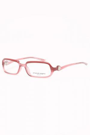 Медицинская оправа Emanuel Ungaro. Цвет: розовый