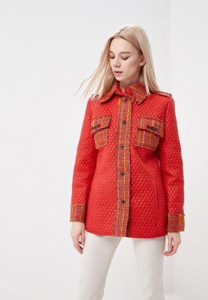 Куртка утепленная Artwizard. Цвет: красный