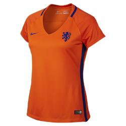 Женская футбольная джерси 2016 Netherlands Stadium Home Nike. Цвет: оранжевый