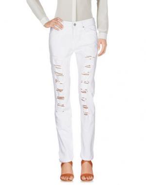 Повседневные брюки HANNY DEEP. Цвет: бежевый