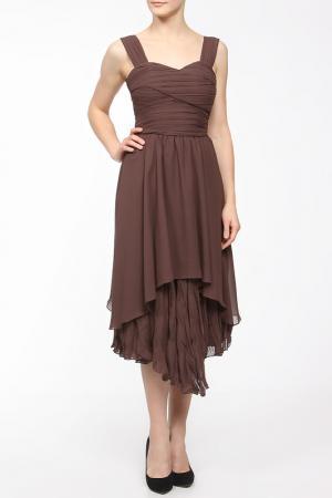 Платье BGN. Цвет: rosewood