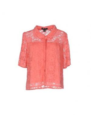 Pубашка CUTIE. Цвет: коралловый
