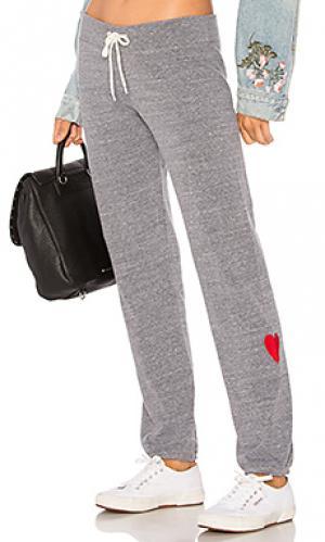 Свободные брюки love MONROW. Цвет: серый