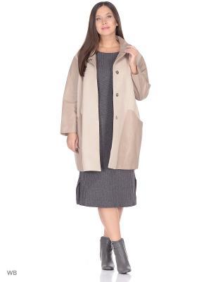 Пальто SARTORI DODICI. Цвет: молочный
