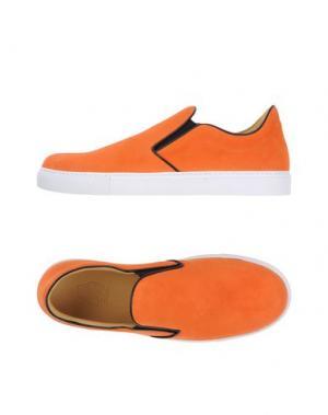 Низкие кеды и кроссовки MR.HARE. Цвет: оранжевый