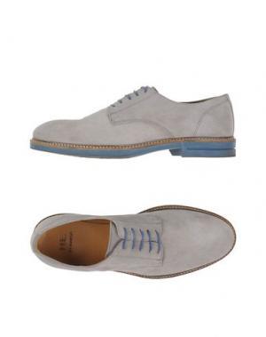 Обувь на шнурках GOLD BROTHERS. Цвет: светло-серый