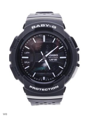 Часы Baby-G BGA-240-1A1 CASIO. Цвет: черный