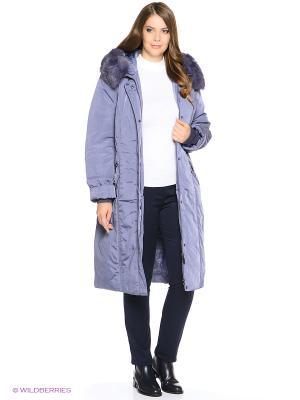 Пальто Black Daffodil. Цвет: серо-голубой