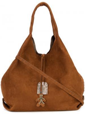 Hobo tote bag Henry Beguelin. Цвет: коричневый