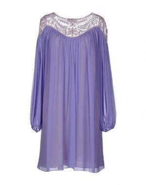 Короткое платье GAI MATTIOLO. Цвет: сиреневый