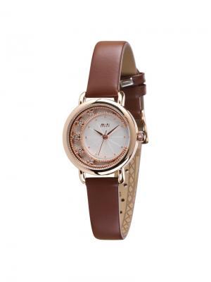 Наручные часы MN2055brown Mini.. Цвет: коричневый, золотистый