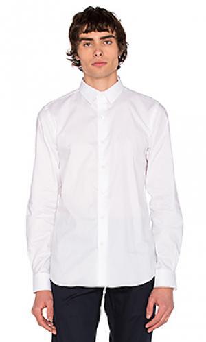 Рубашка reed SATURDAYS NYC. Цвет: белый