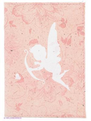 Обложка для автодокументов Амурчик Mitya Veselkov. Цвет: бледно-розовый