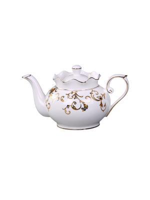 Чайник заварочный 900мл PATRICIA. Цвет: белый