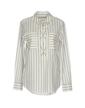 Блузка EQUIPMENT. Цвет: белый