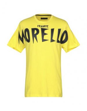 Футболка FRANKIE MORELLO. Цвет: желтый