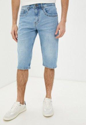 Шорты джинсовые Velocity. Цвет: голубой