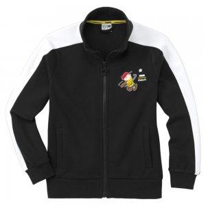 Детская олимпийка x PEANUTS Kids Track Jacket PUMA. Цвет: черный