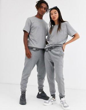 Спортивные штаны с логотипом unisex-Серый Opening Ceremony