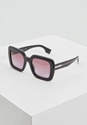 Очки солнцезащитные Burberry BE4284 37588H. Цвет: черный