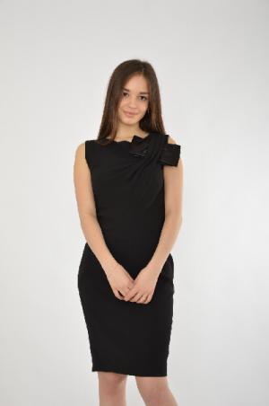 Платье JUS D`ORANGE D'ORANGE. Цвет: черный