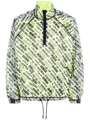 Ветровка с принтом логотипа Adidas Originals By Alexander Wang