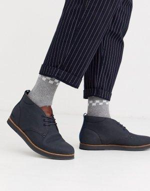 Темно-синие ботинки чукка -Темно-синий Boxfresh