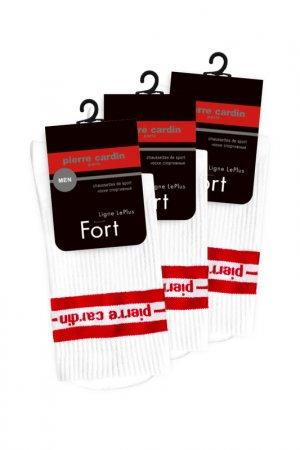 Спортивные носки Pierre Cardin. Цвет: белый