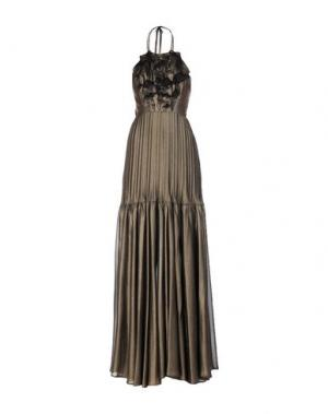 Длинное платье ANNARITA N. Цвет: бронзовый