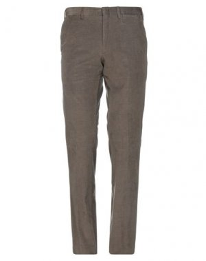 Повседневные брюки BRIONI. Цвет: хаки
