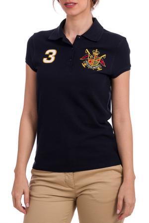 Футболка-поло POLO CLUB C.H.A. Цвет: navy