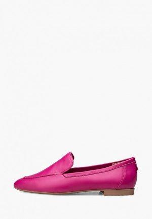 Лоферы Эконика. Цвет: розовый