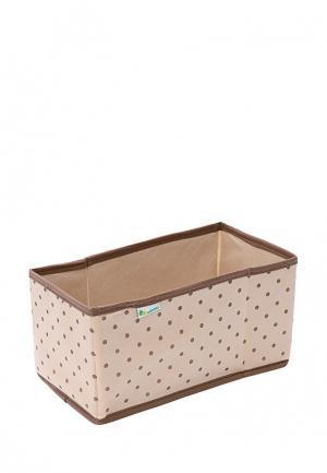 Короб для хранения Homsu Dots. Цвет: красный