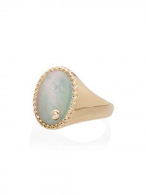 Золотой перстень Yvonne Léon. Цвет: металлик