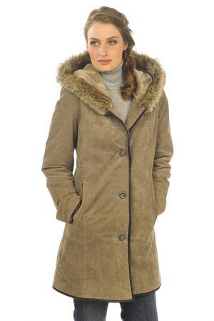 Пальто Arturo. Цвет: коричневый