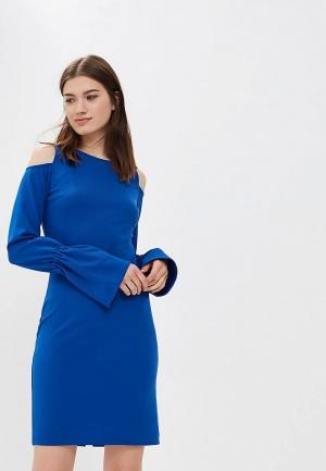 Платье AlexandraKazakova. Цвет: синий