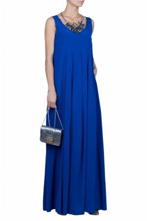 Платье Costume National. Цвет: темно-синий