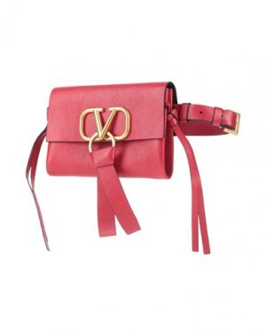 Поясная сумка VALENTINO GARAVANI. Цвет: красный