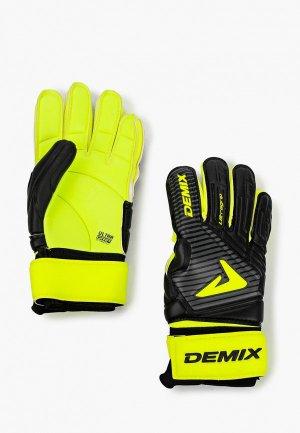 Перчатки вратарские Demix. Цвет: желтый