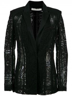 Lace blazer Martha Medeiros. Цвет: черный
