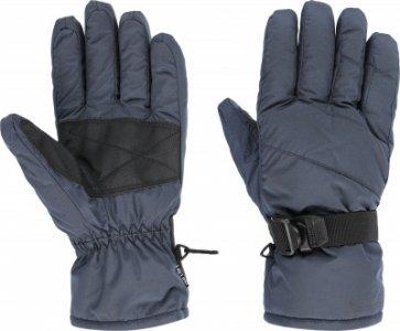 Перчатки мужские , размер 9 Glissade. Цвет: серый