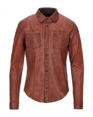Pубашка FREAKY NATION. Цвет: коричневый